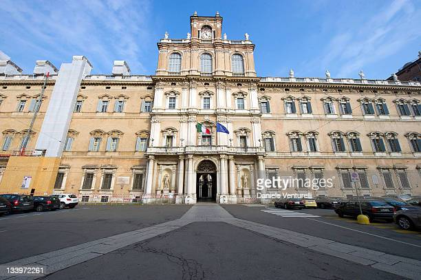 A general view of Accademia Militare on November 23 2011 in Modena Italy