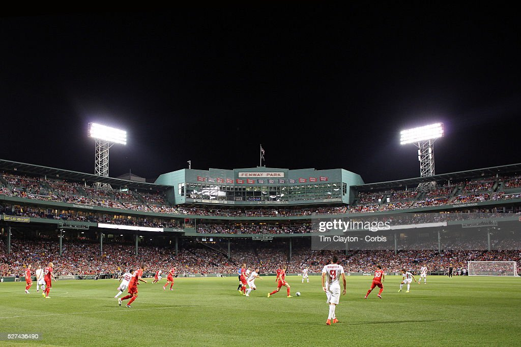 Liverpool Vs AS Roma. Fenway Park, Boston, USA. : News Photo