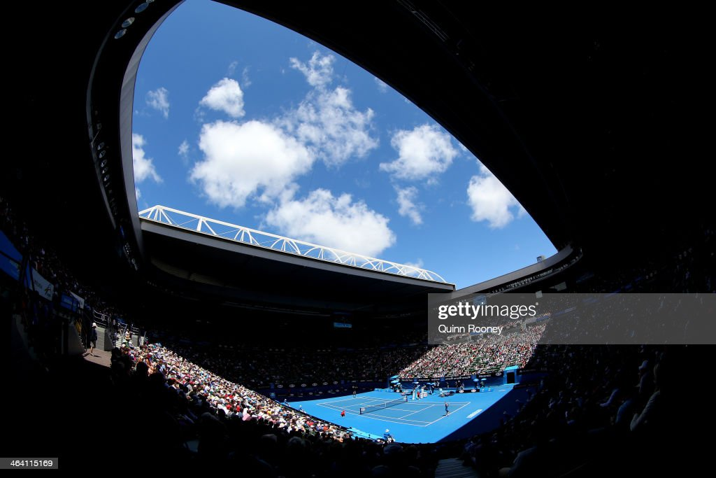 2014 Australian Open - Day 9 : ニュース写真