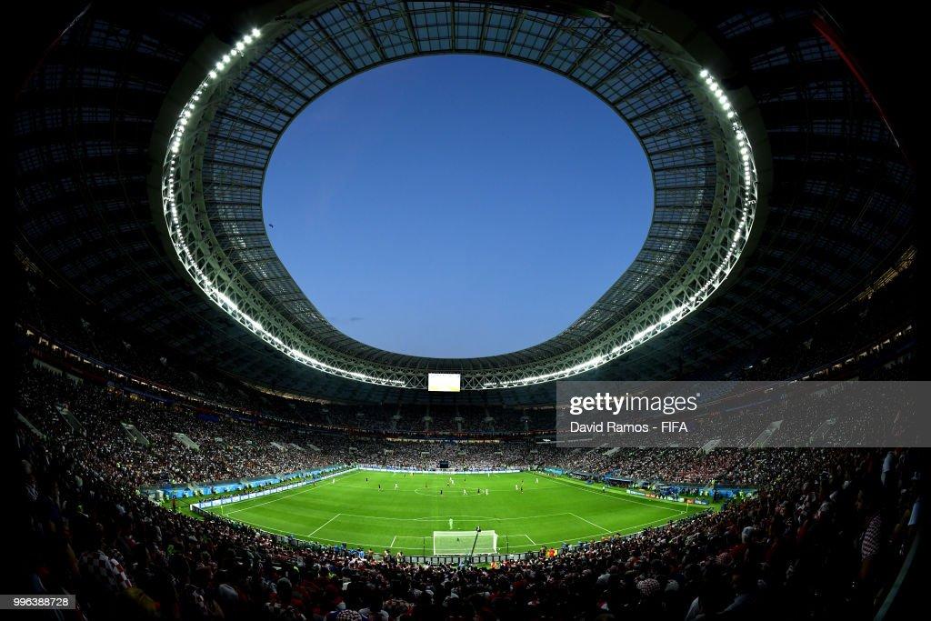 England v Croatia: Semi Final - 2018 FIFA World Cup Russia : Nachrichtenfoto