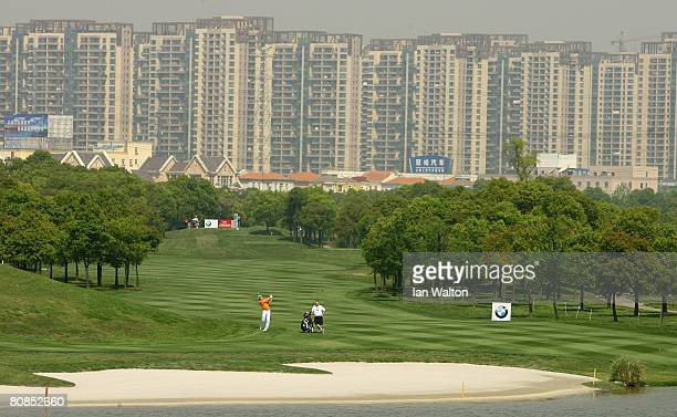 General view of action during the 2nd round of the BMW Asian Open at the Tomson Shanghai Pudong Golf Club on April 25, 2008 in Shanghai, China.