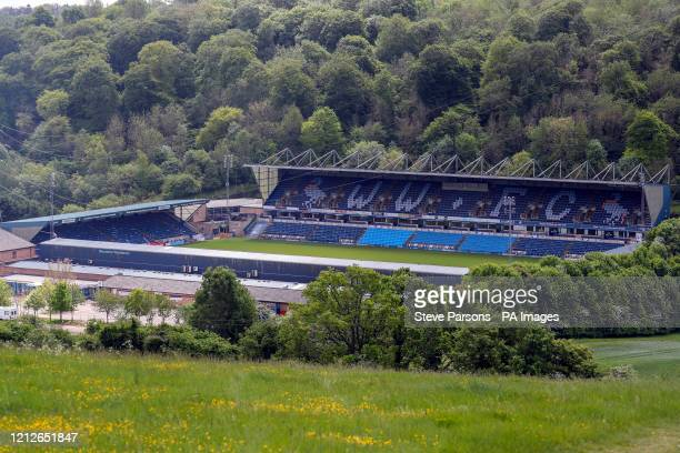 A general view of Adams Park home of Wycombe Wanderers FC