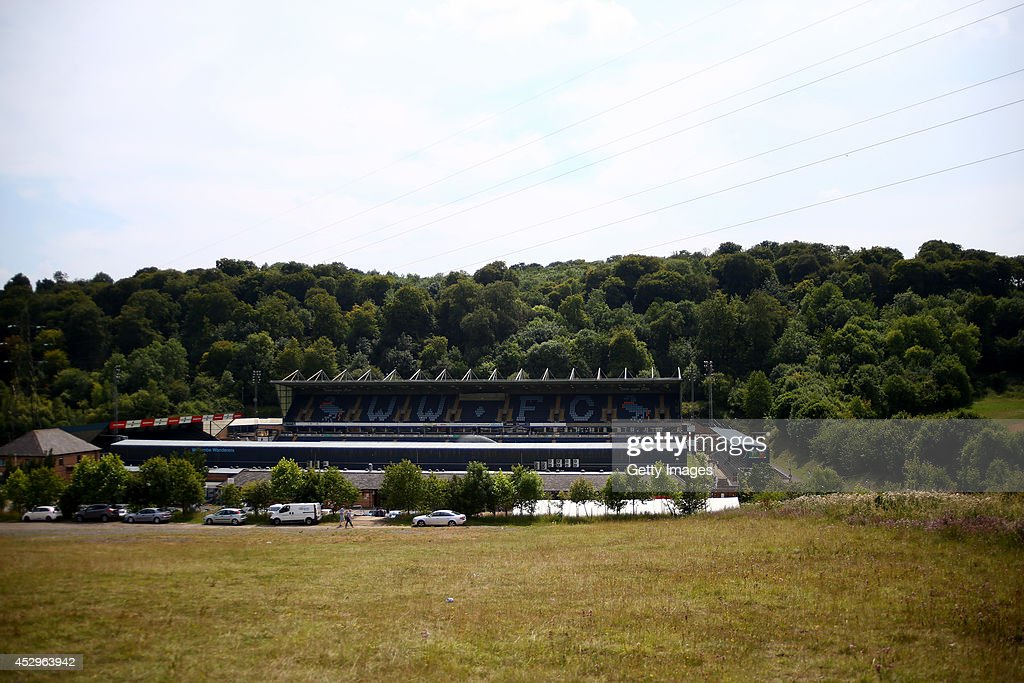 A general view of Adams Park, home of Wycombe Wanderers Football Club on July 26, 2014 in High Wycombe, England.