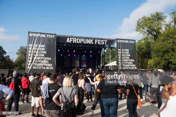 A general view of AFROPUNK 2017 on October 15 2017 in Atlanta Georgia