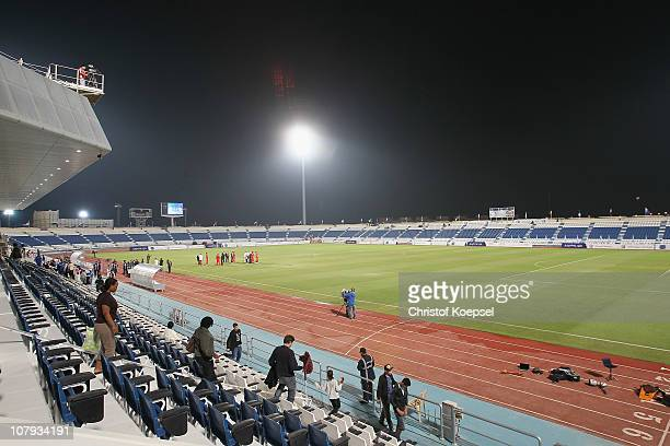 General view of Al Khor stadium before the friendly match between Al-Wakrah SC and FC Bayern Muenchen at Al Khor Stadium on January 8, 2011 in Al...