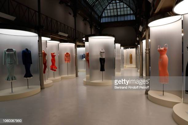 A general view of Alaia Foundation Library Opening at Galery Azzedine Alaia on November 10 2018 in Paris France