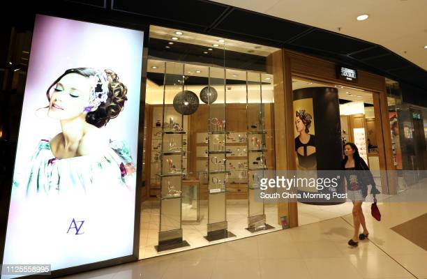 A general view of Alexandre Zouari shop in IFC Central 09JUL13