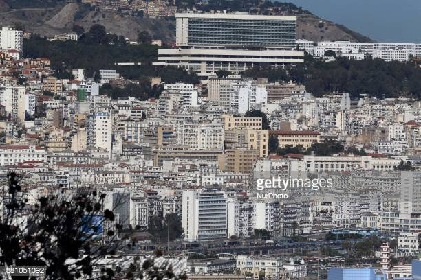 General view of Algiers on November 24 Algerian voters choose new local leaders in an election marked by frustration due to increasing poverty caused...