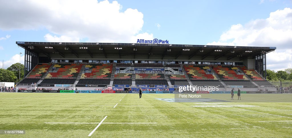 GBR: Saracens v Gloucester - Gallagher Premiership Rugby Semi Final