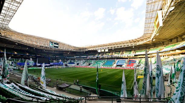 BRA: Palmeiras v Corinthians - State Championship Final Second Leg