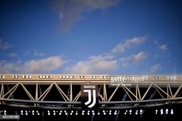 General view of Allianz Stadium during the Serie A football match between Juventus FC and Atalanta BC Juventus FC won 20 over Atalanta BC