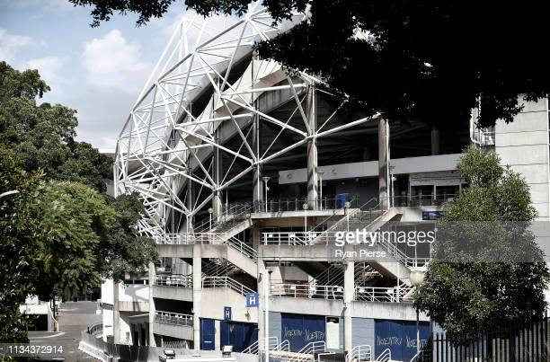 A general view of Allianz Stadium on March 08 2019 in Sydney Australia The demolition of the stadium continues as part a $730m redevelopment plan...