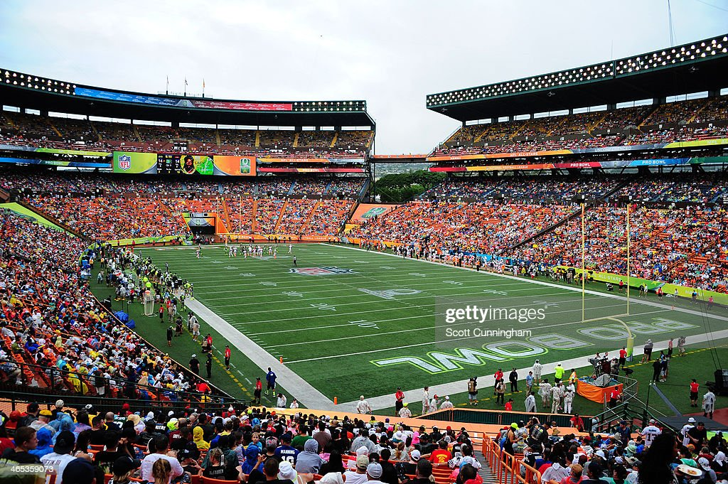 2014 Pro Bowl : News Photo