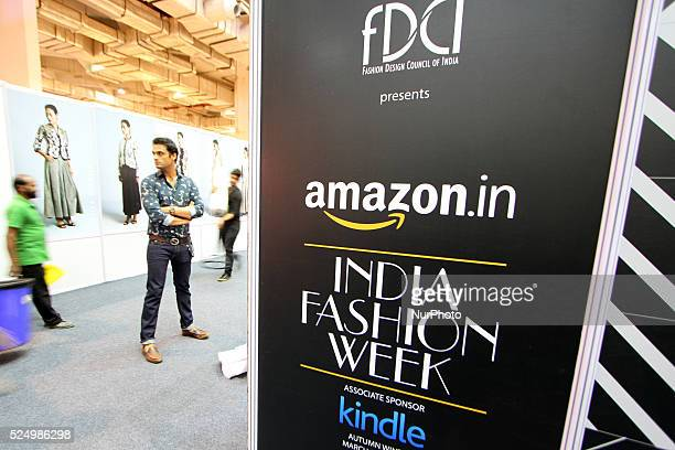 A general View of Amazon India Fashion Week AutumnWinter 2015 Day first in New Delhi on March 252015 INDIAFashion Design Council of India is the apex...