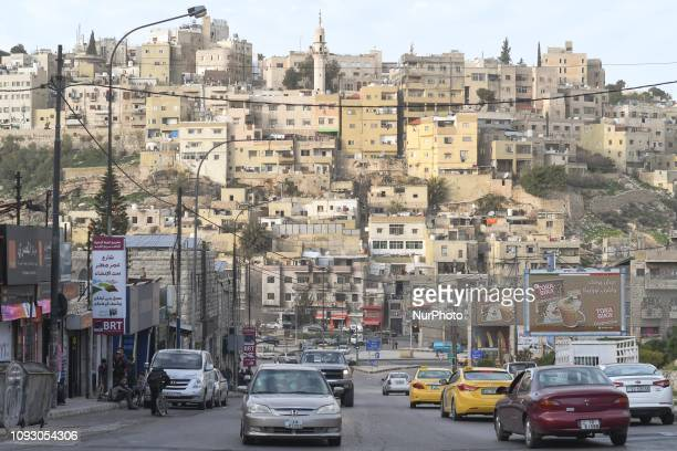 General view of Amman Old Town. On Friday, February 2 in Amman, Jordan.