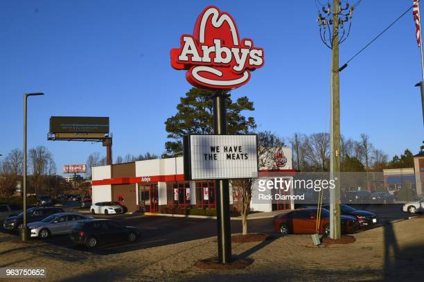 General view of an Arby's restaurant on January 25 2018 in Dawsonville Georgia
