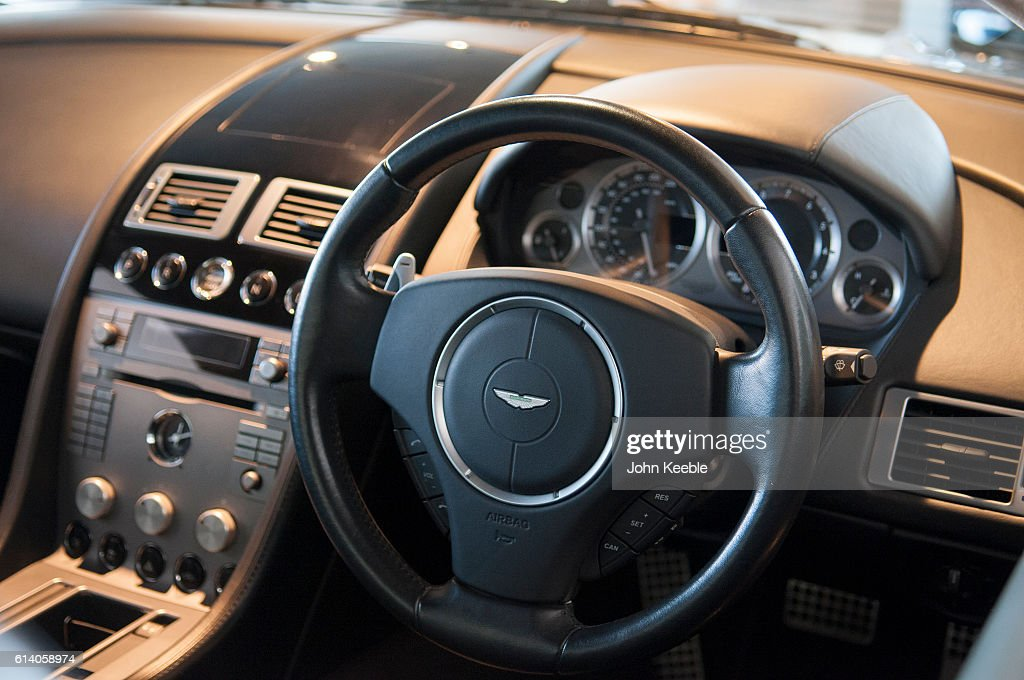 A General View Of An Aston Martin Leather Interior Inside A New Aston News Photo Getty Images