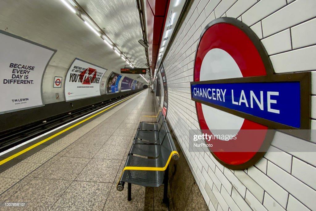 London Closes Dozens Of Tube Stations : News Photo