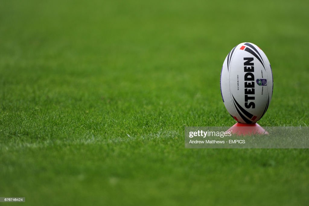 Rugby League - Carnegie Challenge Cup - Semi Final - Warrington Wolves v Catalans Dragons - Stobart Stadium : News Photo