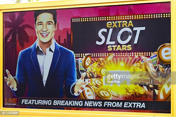 A general view of an event where Mario Lopez joins other celebrities in the mobile gaming market with a new casino slots app titled EXTRA Slot Stars...