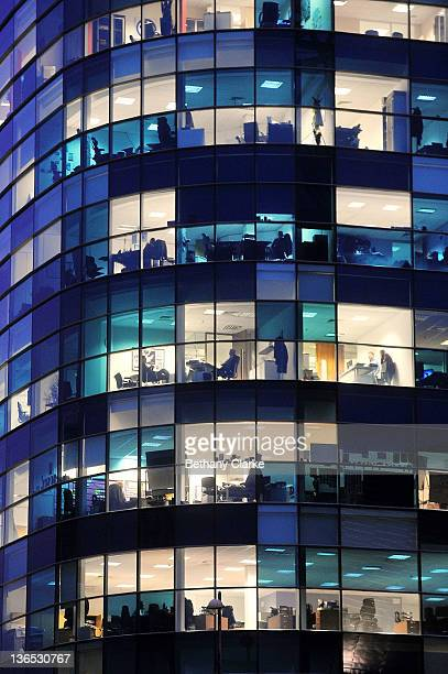 A general view of an office block in Media City on January 6 2012 in Salford Manchester England The Media City complex is the new base for up to 2300...