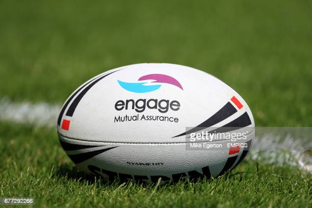 General view of an official engage Steeden match ball