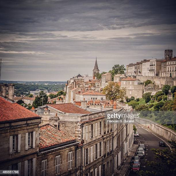 General view of Angouleme during the 8th Angouleme FrenchSpeaking Film Festival on August 26 2015 in Angouleme France