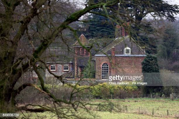 A general view of Anmer Hall on the Royal Sandringham Estate in Norfolk following reports that Queen Elizabeth II will gift the Georgian property...