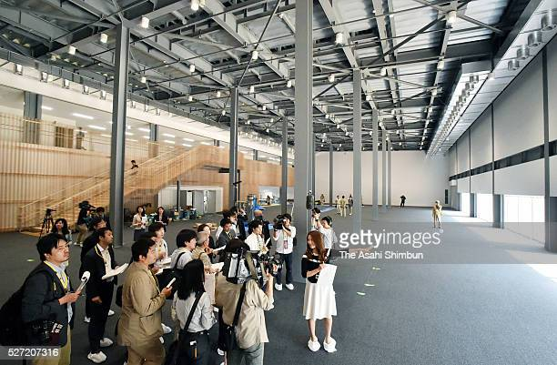 General view of Annex building is seen during the press preview of the G7 Ise Shima Summit International Media Center on May 2, 2016 in Ise, Japan....