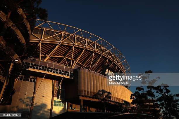 A general view of ANZ Stadium before the 2018 NRL Grand Final match between the Melbourne Storm and the Sydney Roosters at ANZ Stadium on September...