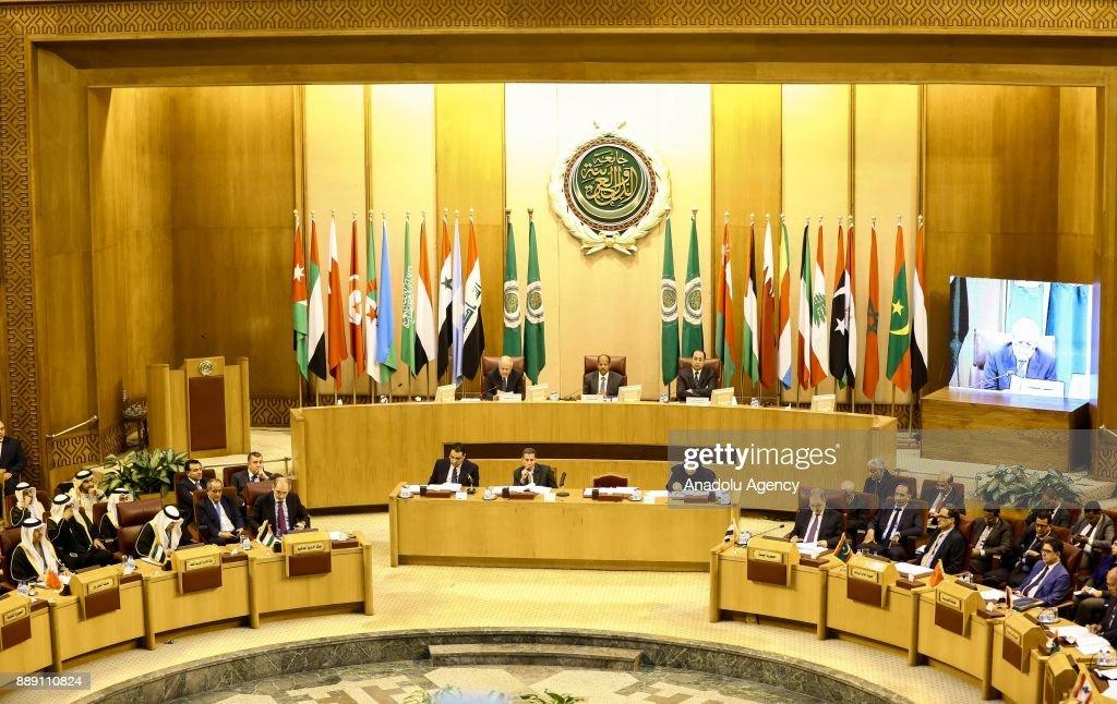 Arab League condemns Trump's Jerusalem announcement : News Photo