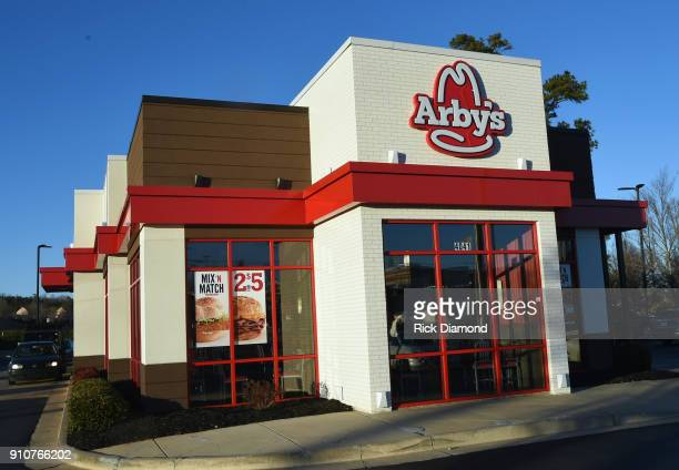 General view of Arby's Restaurant on January 25 2018 in Dawsonville Georgia