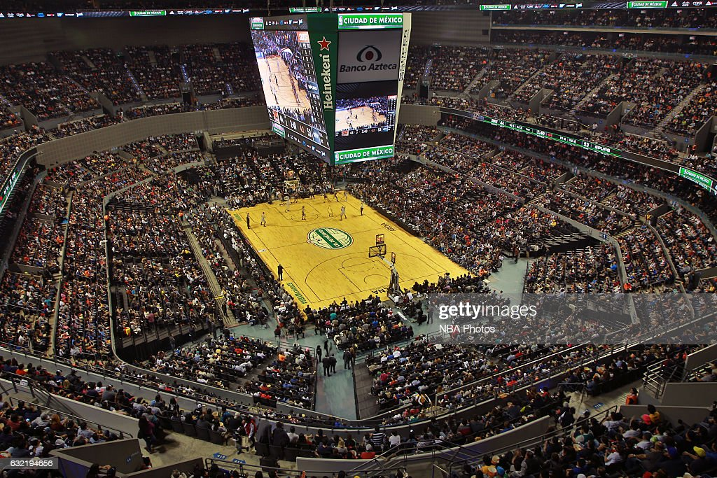 A general view of Arena Ciudad de Mexico before the San Antonio Spurs game against the Phoenix Suns as part of NBA Global Games on January 14, 2017 in Mexico City, Mexico.