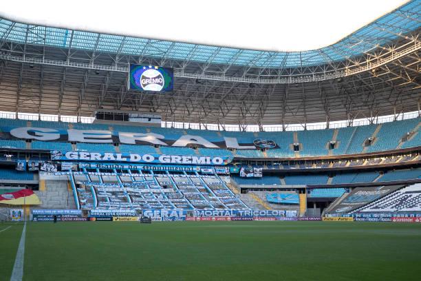 BRA: Gremio v Independiente del Valle - Copa CONMEBOL Libertadores 2021