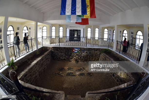General view of Argentineborn Cuban revolutionary leader Ernesto Che Guevara's mausoleum in Vallegrande southern Bolivia on September 30 2017 Half a...