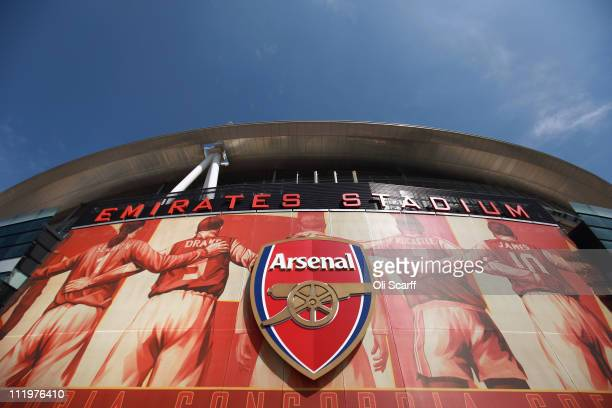 General view of Arsenal Football Club's Emirates Stadium on April 11, 2011 in London, England. American businessman Stan Kroenke's company 'Kroenke...