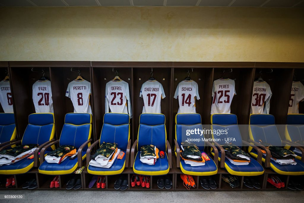 Shakhtar Donetsk v AS Roma - UEFA Champions League Round of 16: First Leg