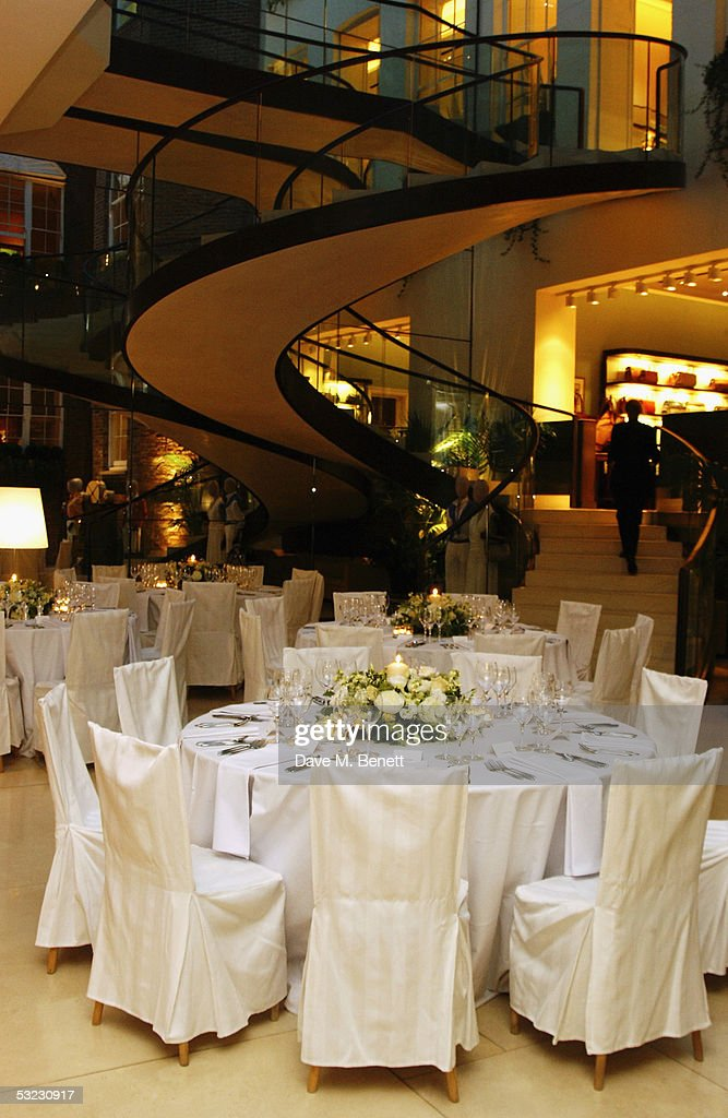 A general view of Asprey's is seen prior to Renee Fleming's private Asprey dinner party at Asprey's flagship store in Bond Street July 12, 2005 in London, England.