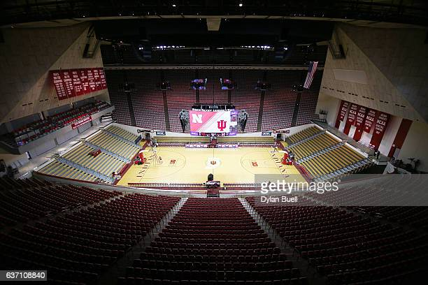 A general view of Assembly Hall on December 28 2016 in Bloomington Indiana