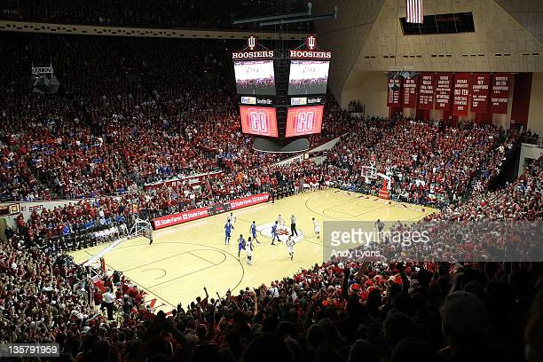 General view of Assembly Hall site of the Kentucky Wildcats game against the Indiana Hoosiers on December 10, 2011 in Bloomington, Indiana.