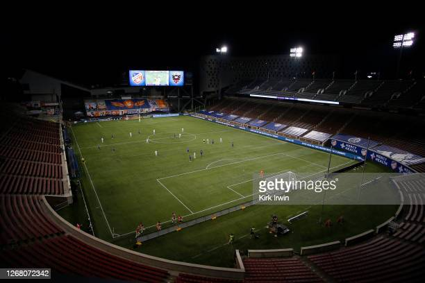 General view of at Nippert Stadium during the match between FC Cincinnati and DC United on August 21, 2020 in Cincinnati, Ohio. Cincinnati and DC...