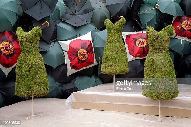 General view of at Royal Hospital Chelsea ahead of the Chelsea Flower Show on May 23 2010 in London England