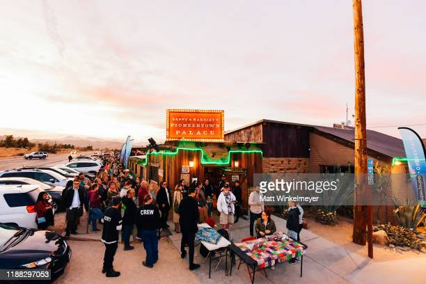 """General view of atmopshere as OneRepublic performs at Enterprise's """"Share the Code. Hit the Road"""" at famed venue Pappy & Harriet's in Pioneertown, CA..."""