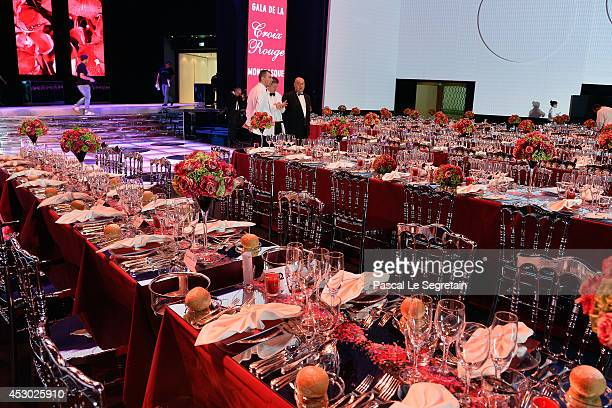 A general view of atmopshere prior to the 66th Monaco Red Cross Ball Gala at Sporting MonteCarlo on August 1 2014 in MonteCarlo Monaco
