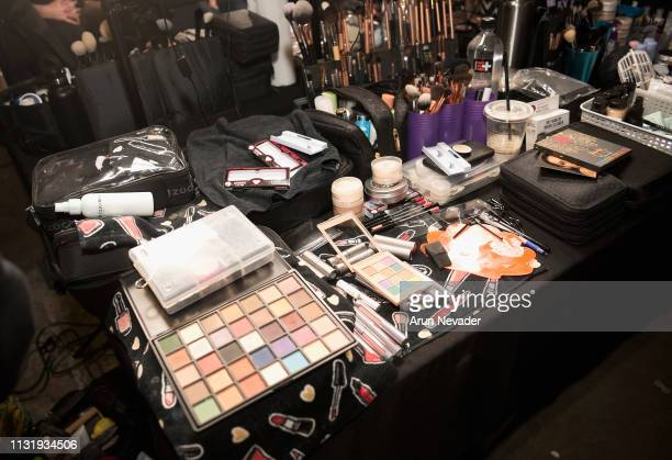 A general view of atmosphere ackstage at Los Angeles Fashion Week FW/19 Powered by Art Hearts Fashion at The Majestic Downtown on March 21 2019 in...