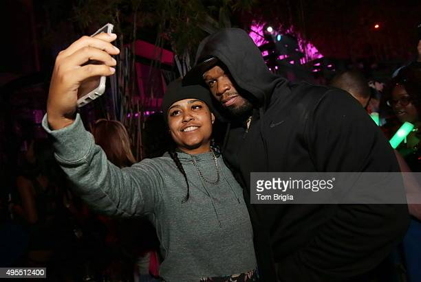General view of atmosphere as 50 Cent hosts The Pool After Dark at Harrah's Resort on Saturday October 31 2015 in Atlantic City New Jersey