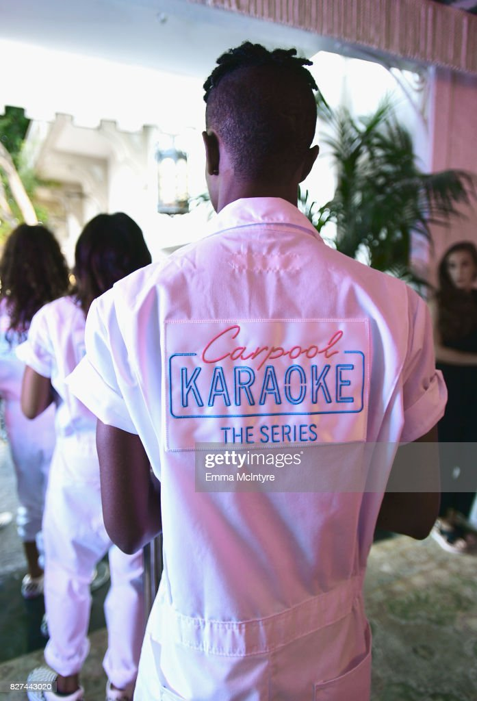 A general view of atmosphere as seen at Apple Music Launch Party Carpool Karaoke: The Series with James Corden on August 7, 2017 in West Hollywood, California.