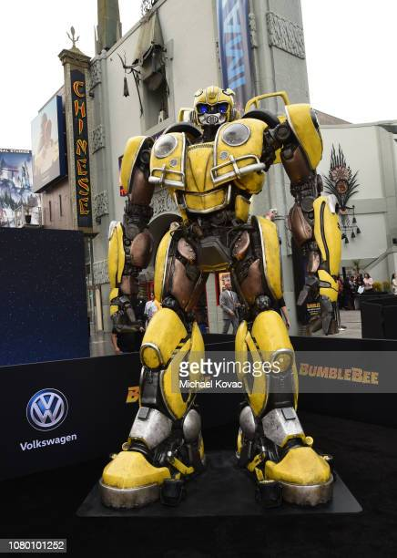 A general view of atmosphere as seen at the global premiere of Paramount Pictures' film 'Bumblebee' on December 09 2018 in Hollywood California