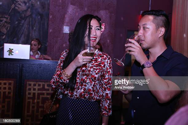 General view of atmosphere as seen during ELLE Presents MUSIC X STYLE Event In Partnership With Raymond Weil And Diet Coke at Mister H on September...