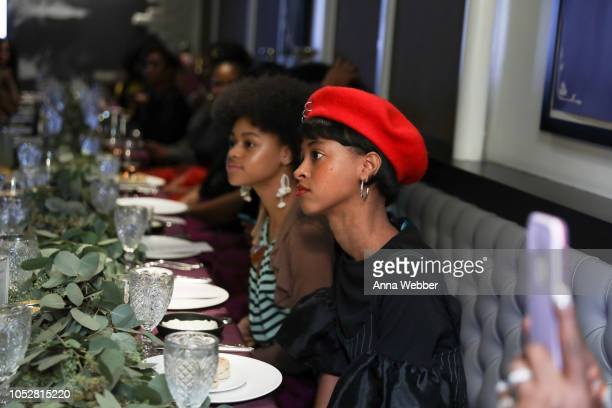 General view of atmosphere as seen during Spotify Honors Black Female Creatives For Black History Is Happening Now Campaign on October 22 2018 in...